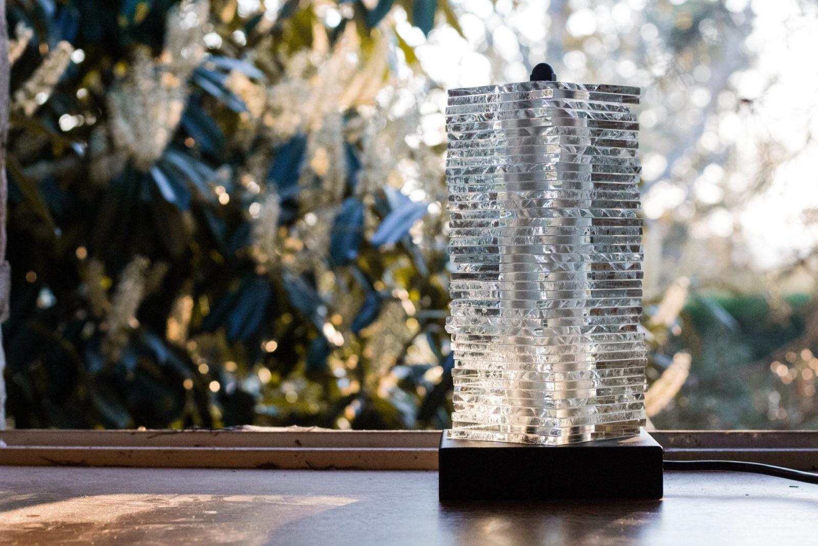 Erèbe lampe nosqua modulable intérieur verre