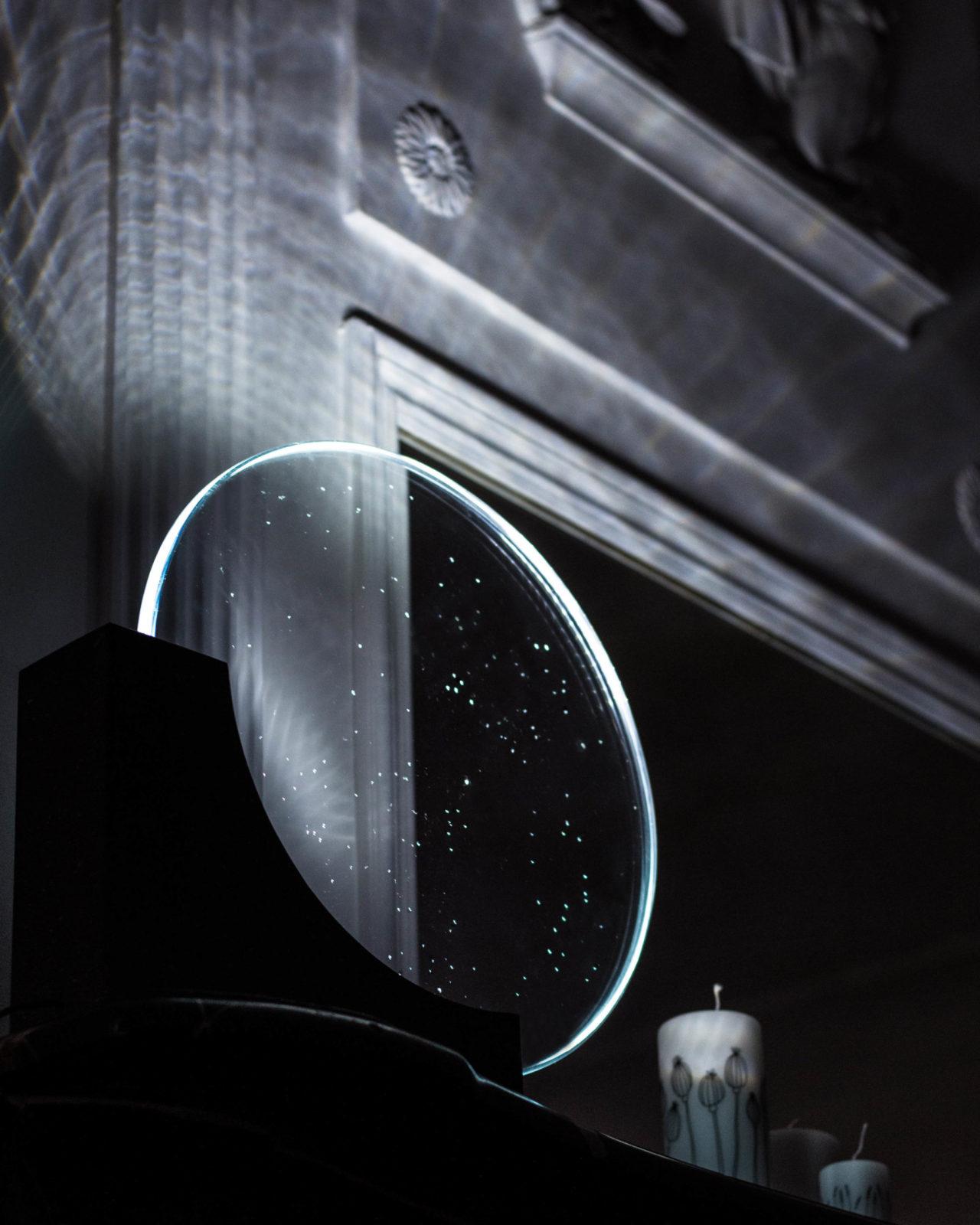 lampe verre lumière nosqua luxe constellation
