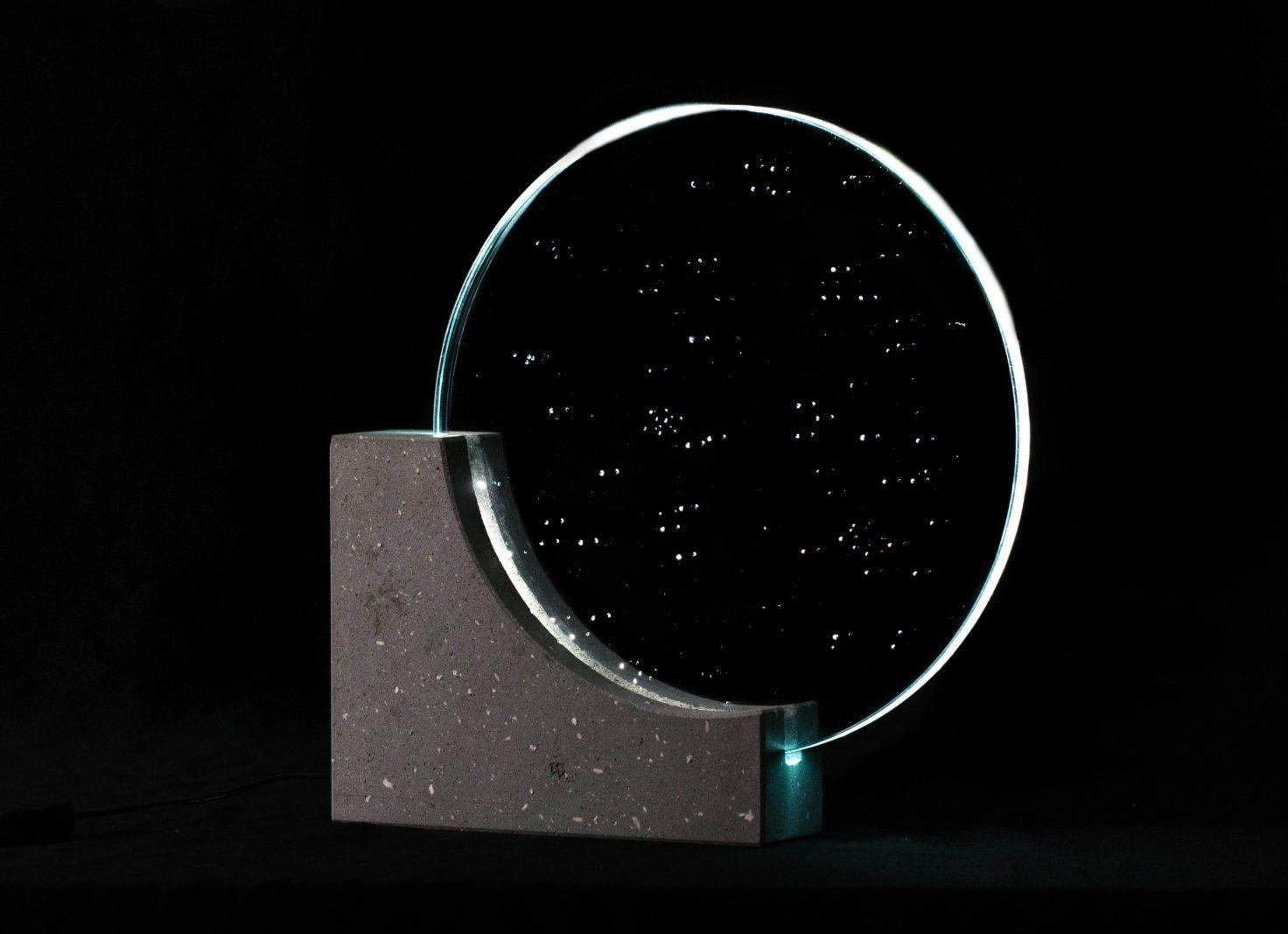 Sancy verre lave poke lumière lampe
